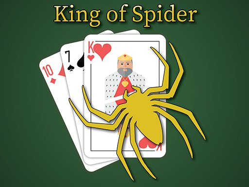 Play King of Spider Solitaire Now!
