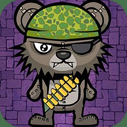 Play Teddy Bear Zombies Machine Gun Now!