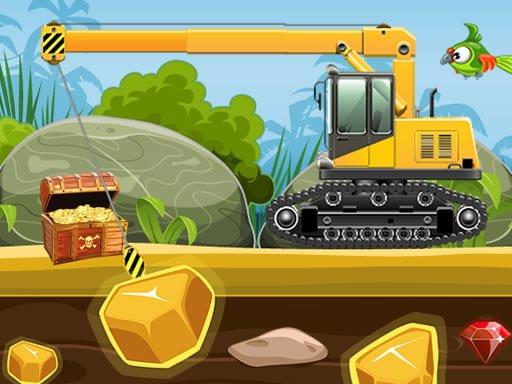 Play Gold Truck Crane Now!