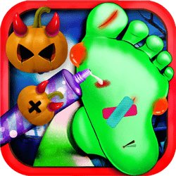 Play Crazy Halloween Nail Doctor Now!