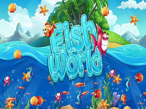 Play Fish World Match Now!