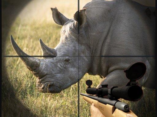 Play Rhino Hunter Shooting Strike  Now!