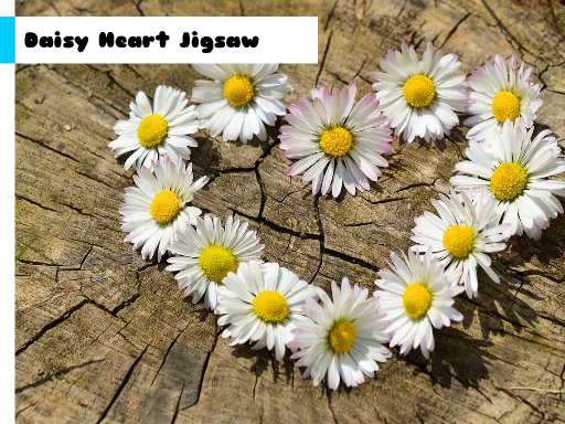 Play Daisy Heart Jigsaw Now!