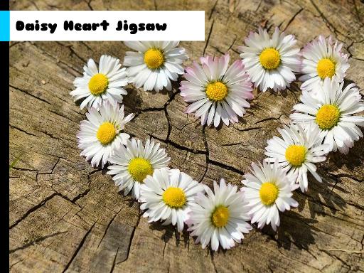 Play Daisy Heart Jigsaw Now!