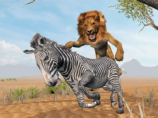 Play Lion King Simulator: Wildlife Animal Hunting Now!