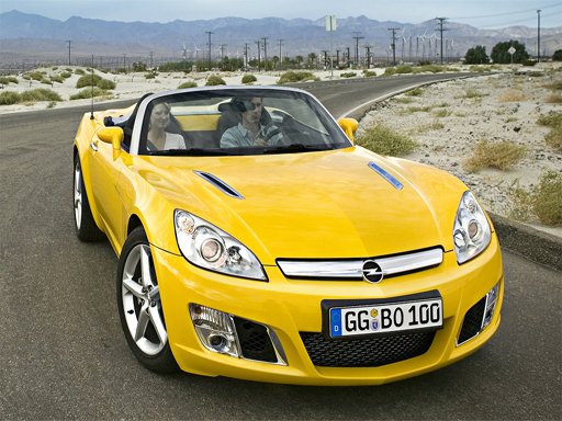 Play Opel GT Puzzle Now!