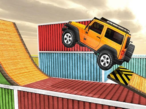 Play Impossible Tracks Jeep Stunt Driving Game Now!