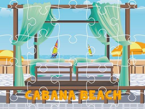 Play Cabana Beach Jigsaw Now!