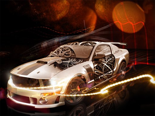 Play Cool Cars Jigsaw Puzzle Now!