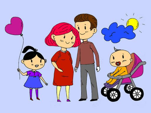 Play Happy Family Coloring Book Now!