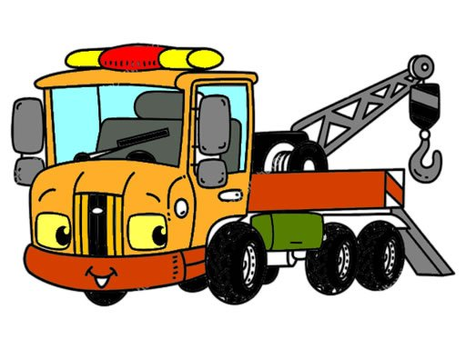 Play Tow Trucks Coloring Now!