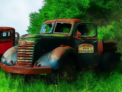 Play Old Rusted Trucks Now!