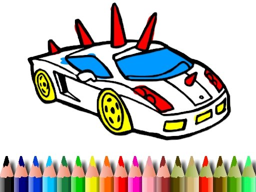 Play BTS GTA Cars Coloring Now!