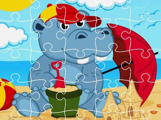 Play Hippo Jigsaw Now!