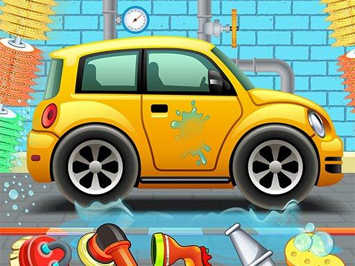 Play Kids Car Wash Service Auto Workshop Garage Now!