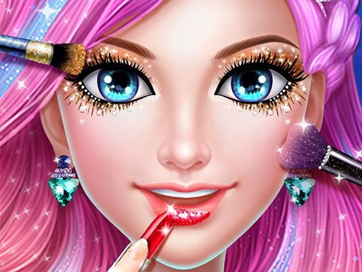 Play Mermaid Dress up & Makeover - Color by Number Now!