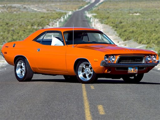 Play Classic Muscle Cars Jigsaw Puzzle Now!