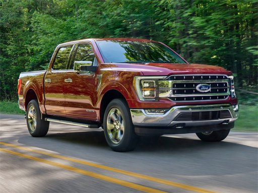 Play 2021 Ford F-150 Puzzle Now!