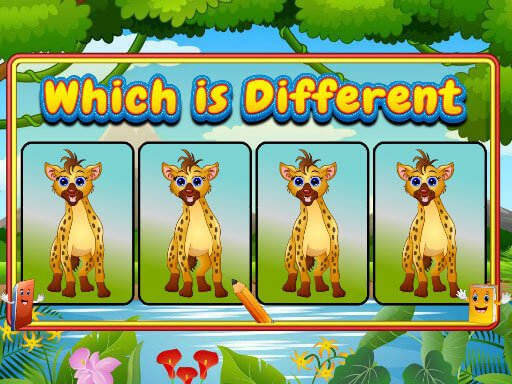 Play Which Is Different Animal Now!