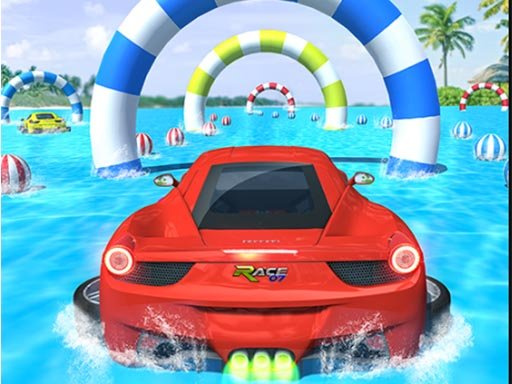 Play Water Surfing Car Stunts Now!
