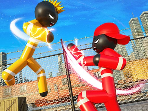 Play Stickman Police VS Gangsters Street Fight Now!