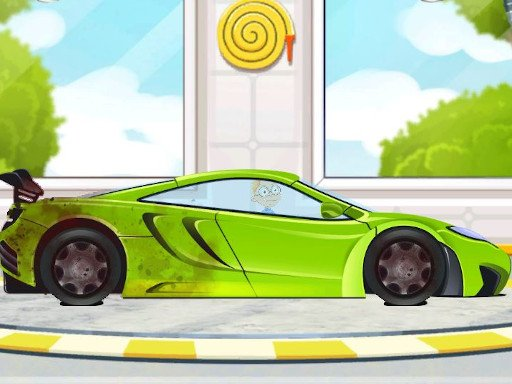 Play Sports Car Wash 2D Now!