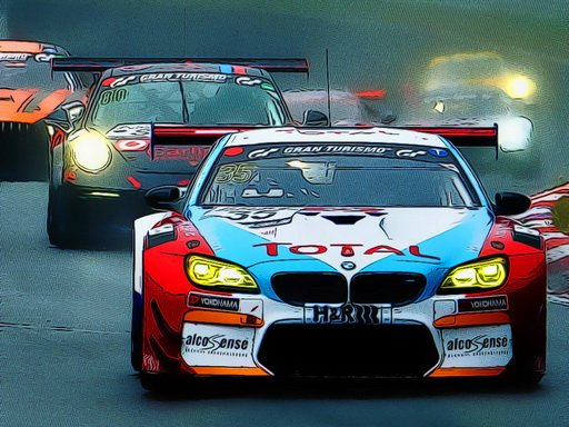 Play Racing Cars Puzzle Now!