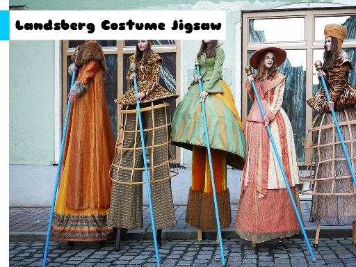 Play Landsberg Costume Jigsaw Now!