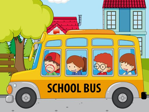 Play School Bus Differences Now!