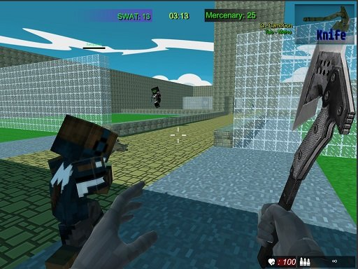 Play Pixel Fps SWAT Command Now!