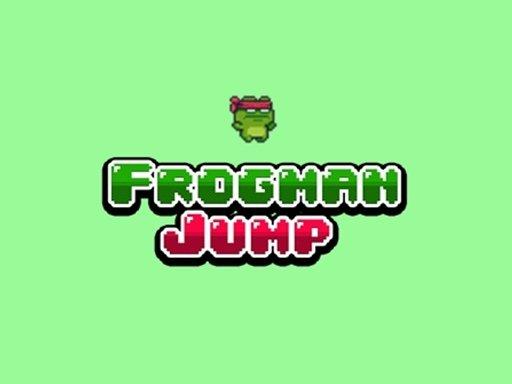 Play Frogman Jump Now!