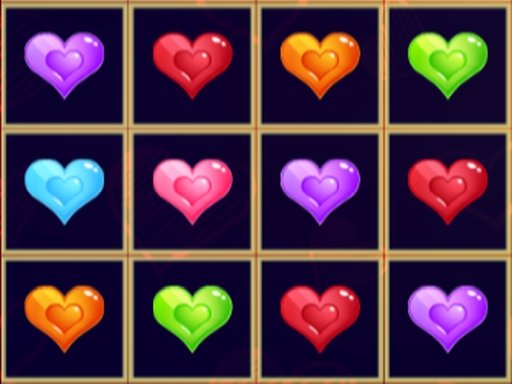 Play Sliding Hearts Match 3 Now!