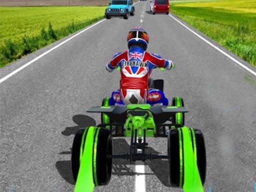 Play ATV Quad Bike Traffic Rider Now!