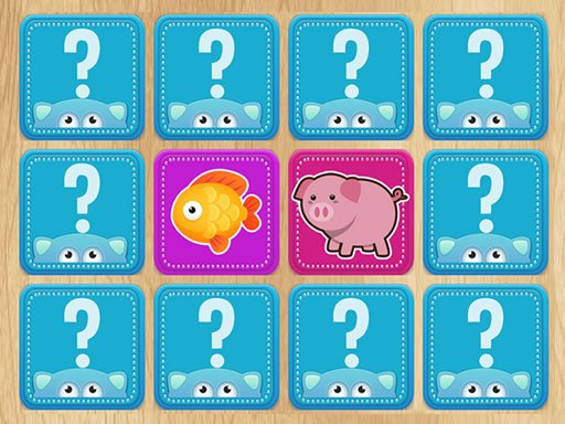 Play Find a Pair: Animals Now!