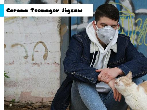 Play Corona Teenager Jigsaw Now!