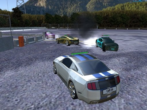 Play Parking Car Crash Demolition Multiplayer Now!
