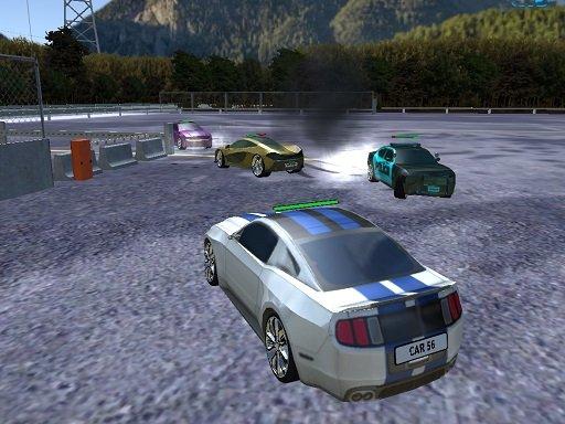 Play Parking Car Crash Demolition Multiplayer Now!