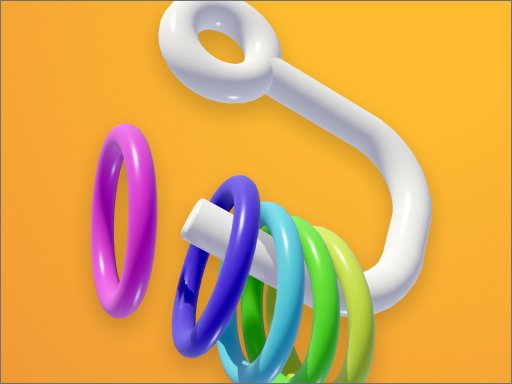 Play Ring Fall 3D Now!