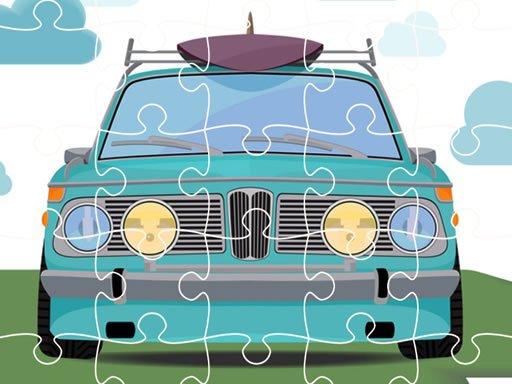 Play Retro Cars Jigsaw Now!