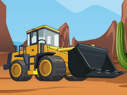 Play Bulldozer Jigsaw Now!