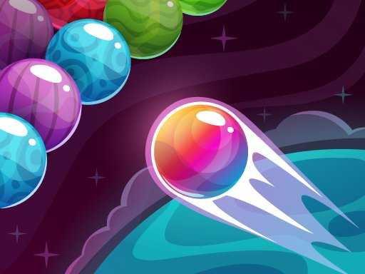 Play Bubble Shooter Colored Planets Now!