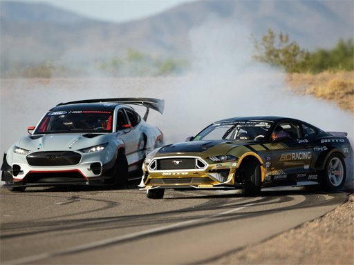 Play Drifting Mustang Car Puzzle Now!