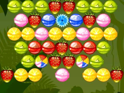 Play Bubble Shooter Fruits Candies Now!