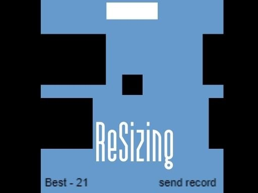 Play ReSizing - timekiller game Now!