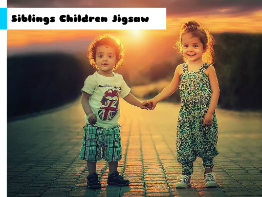 Play Siblings Children Jigsaw Now!