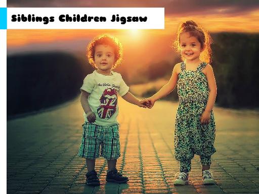 Play Siblings Children Jigsaw Now!