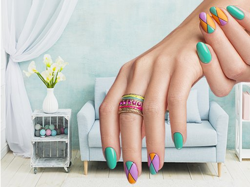 Play Nail Art Puzzle Now!