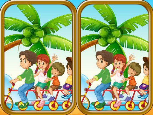 Play Summer Beach Differences Now!