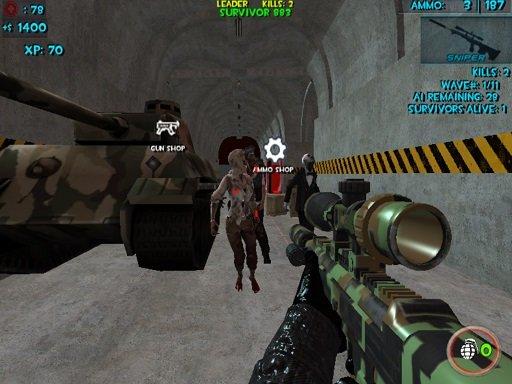 Play Zombie Apocalypse Bunker Survival Z Now!