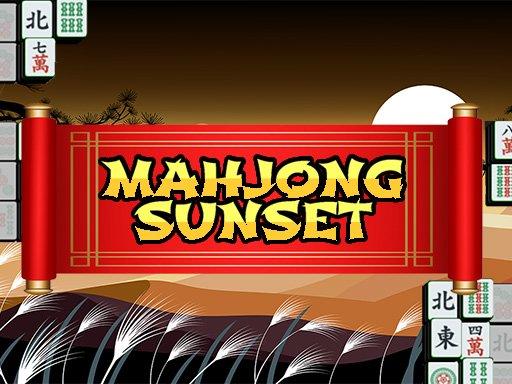Play Mahjong Sunset Now!